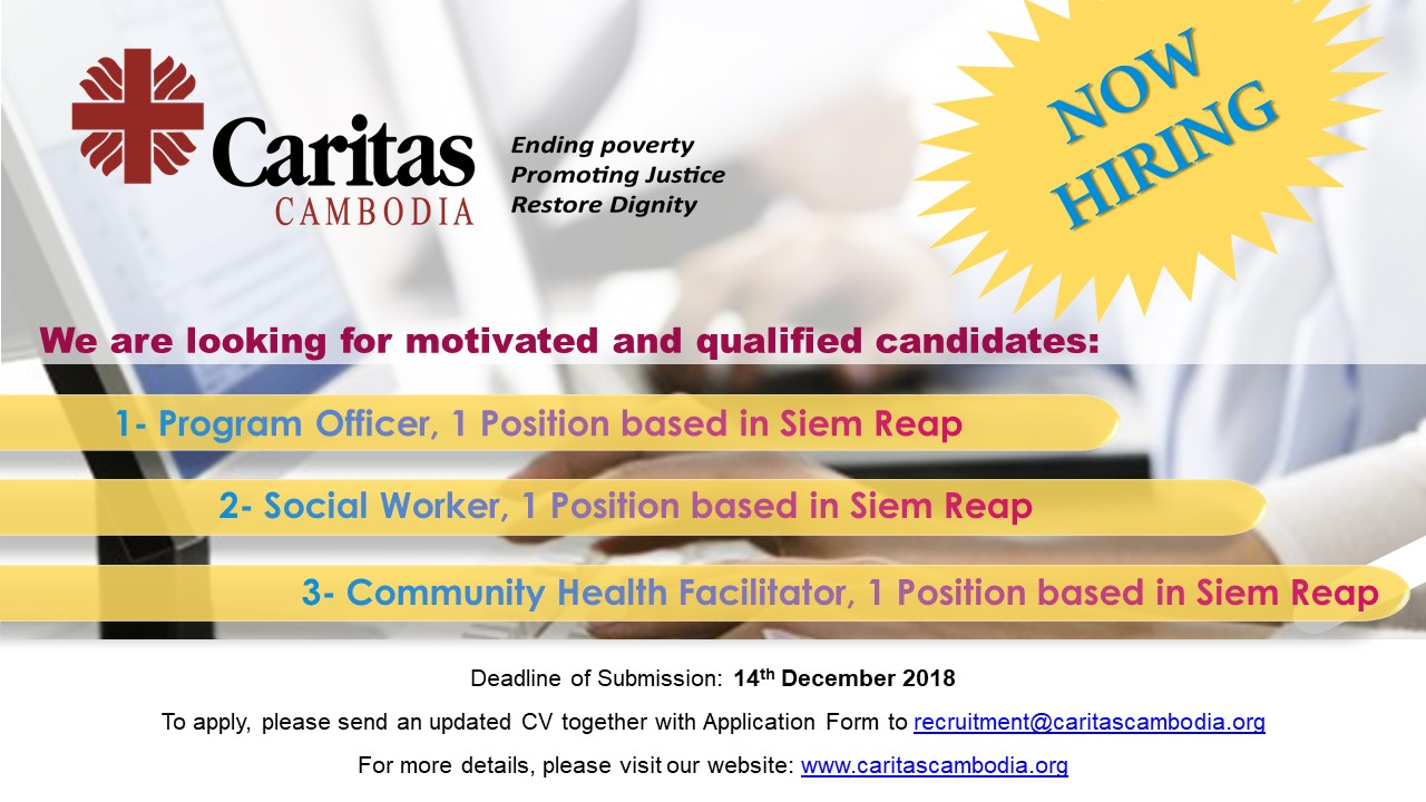 Job-Announcement verious-positions-at-Siem-Reap